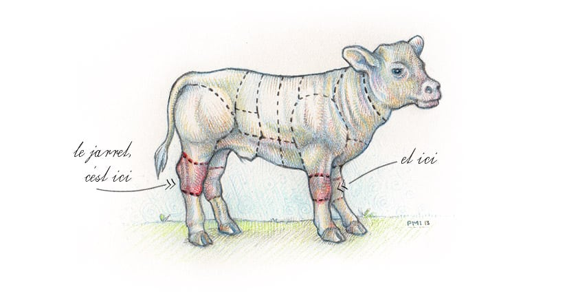 Jarret fa on osso bucco et c leri r ti cook 39 n focus parfois laboratoire parfois atelier - Comment cuisiner le jarret de veau ...