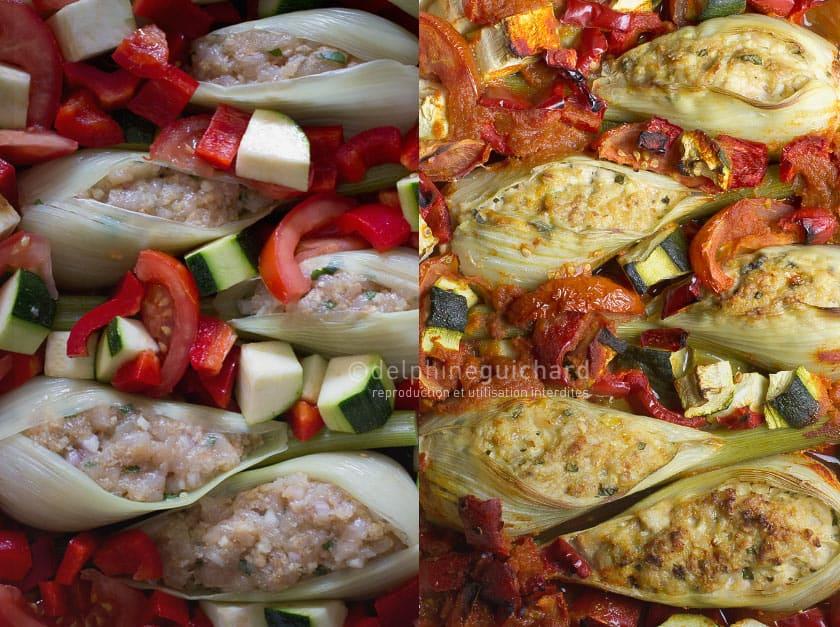 Fenouil farci l ger savoureux et facile cook 39 n focus - Cuisiner fenouil braise ...