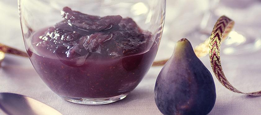 Chutney de figues, une gourmandise pour les fêtes