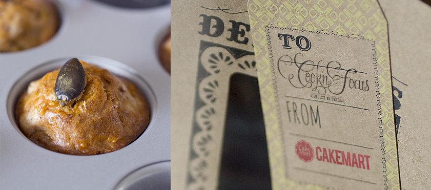 Petites douceurs pour les apéritifs d'Halloween : mini-muffins au potiron, farine de châtaigne et comté