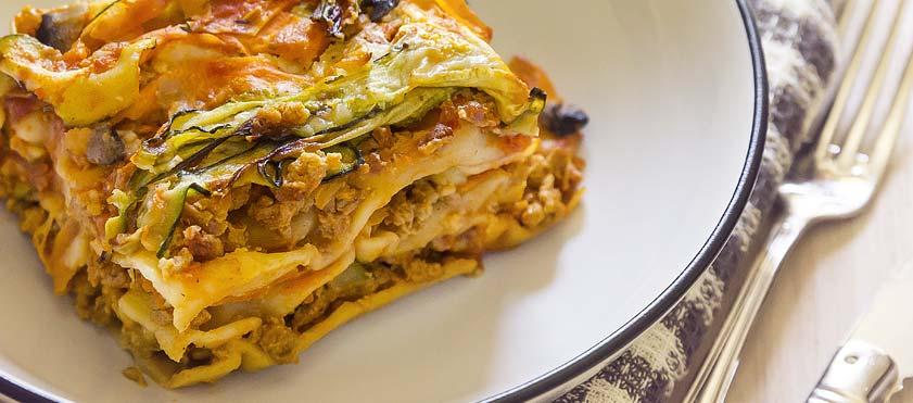 Lasagnes Vegan - Cook'n Focus