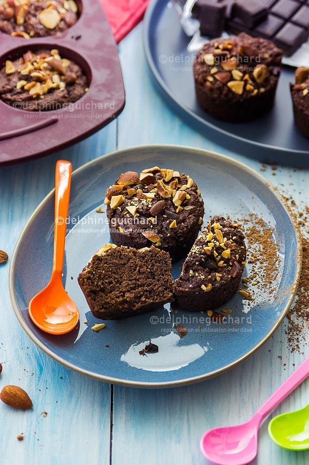 Muffins végétaliens et trop moelleux