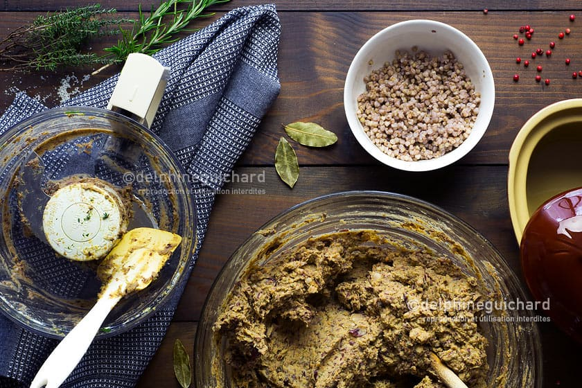 Terrine végétale aux haricots rouges, la préparation - Cook'n Focus